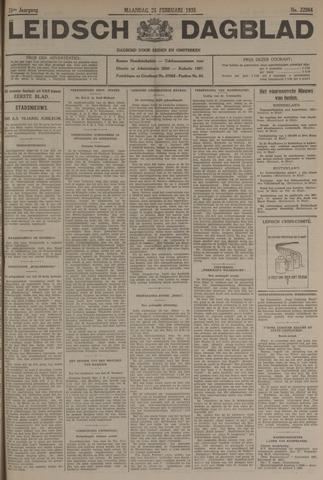 Leidsch Dagblad 1935-02-25
