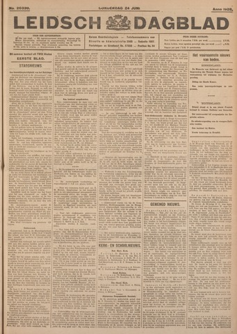 Leidsch Dagblad 1926-06-24
