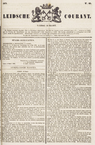 Leydse Courant 1875-03-19