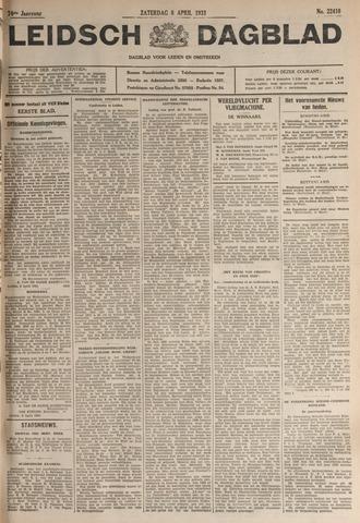 Leidsch Dagblad 1933-04-08