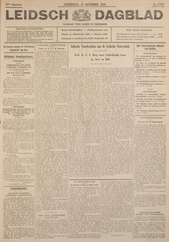 Leidsch Dagblad 1930-11-27
