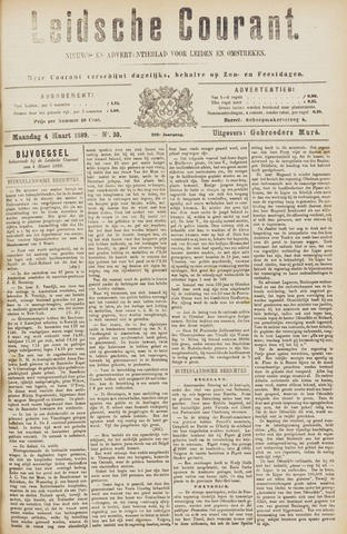 Leydse Courant 1889-03-05