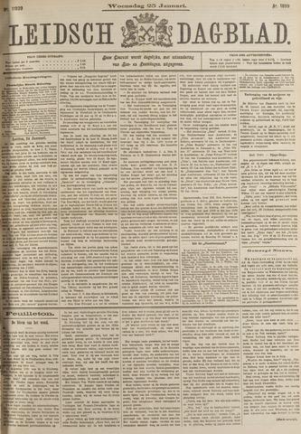 Leidsch Dagblad 1899-01-25