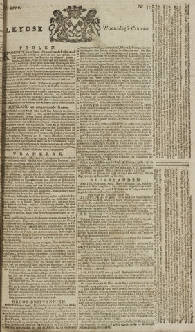 Leydse Courant 1770-04-25