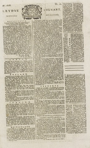 Leydse Courant 1818-01-28