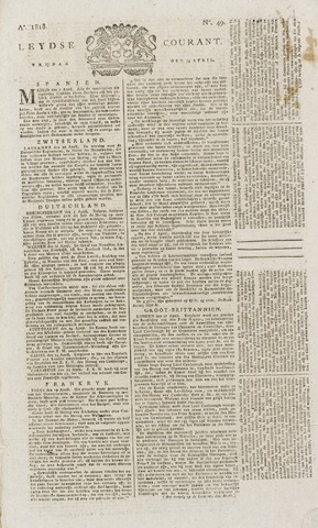 Leydse Courant 1818-04-24