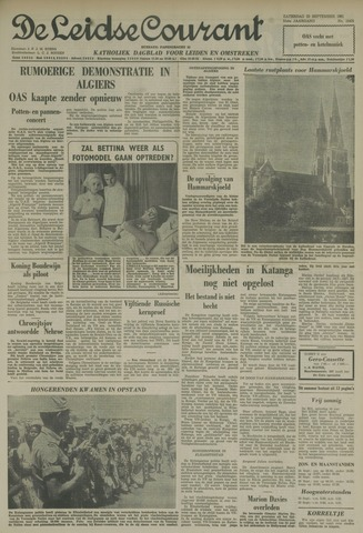 Leidse Courant 1961-09-23