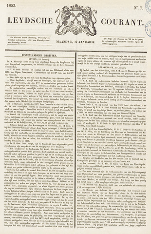 Leydse Courant 1853-01-17