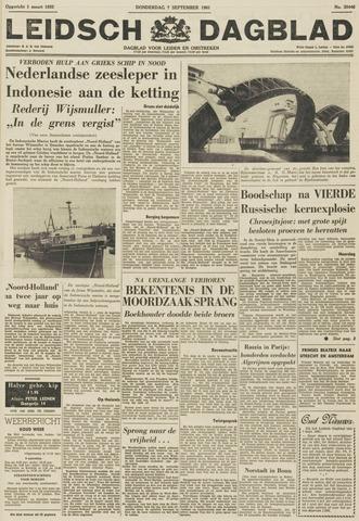 Leidsch Dagblad 1961-09-07