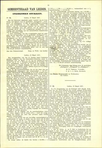 Handelingen van de Raad 1937-03-19