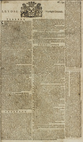 Leydse Courant 1771-11-22