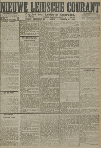 Nieuwe Leidsche Courant 1921-08-02