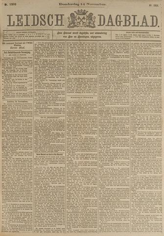 Leidsch Dagblad 1901-11-14