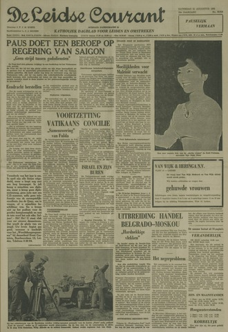 Leidse Courant 1963-08-31