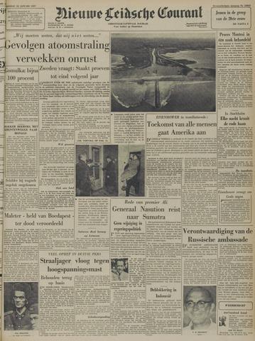 Nieuwe Leidsche Courant 1957-01-22