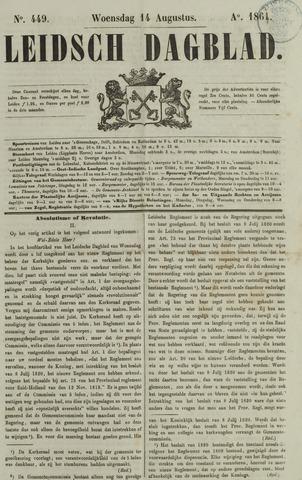 Leidsch Dagblad 1861-08-14