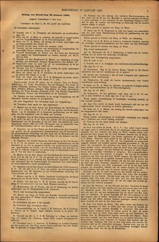 Handelingen van de Raad 1893-01-26