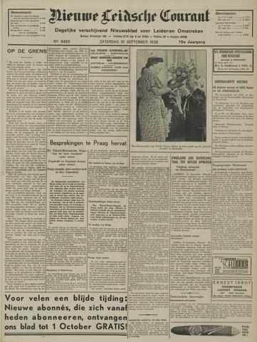 Nieuwe Leidsche Courant 1938-09-10