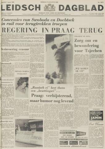 Leidsch Dagblad 1968-08-27
