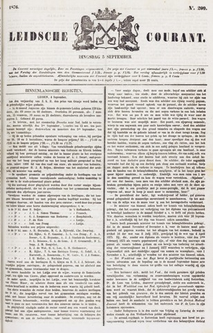 Leydse Courant 1876-09-05