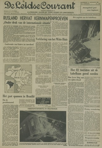 Leidse Courant 1961-08-31