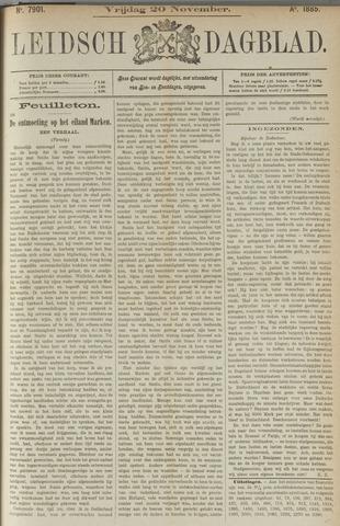 Leidsch Dagblad 1885-11-20