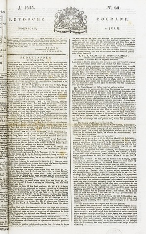 Leydse Courant 1843-07-12