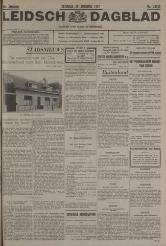 Leidsch Dagblad 1937-08-28