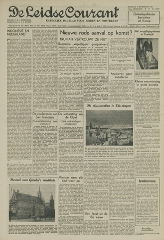 Leidse Courant 1951-09-04