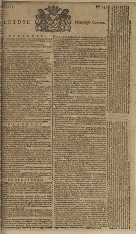 Leydse Courant 1755-11-03