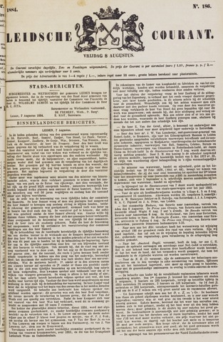 Leydse Courant 1884-08-08