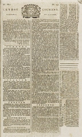 Leydse Courant 1817-10-22