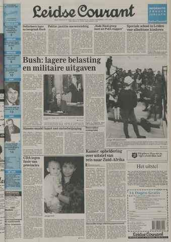 Leidse Courant 1992-01-29
