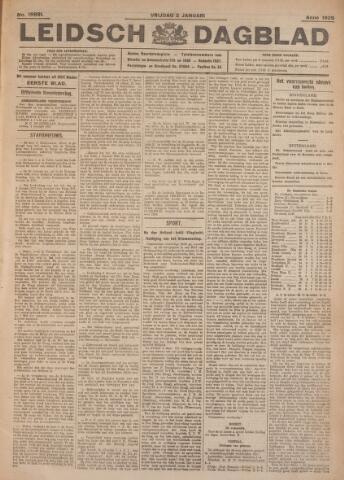 Leidsch Dagblad 1925
