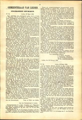 Handelingen van de Raad 1902-03-28