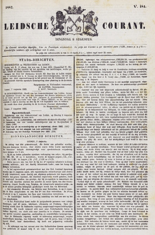 Leydse Courant 1882-08-08