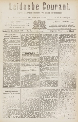 Leydse Courant 1889-01-24