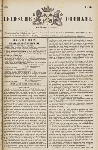 Leydse Courant 1884-03-15