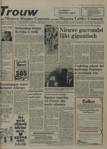 Nieuwe Leidsche Courant 1975-10-29