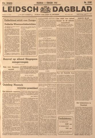 Leidsch Dagblad 1942-02-02