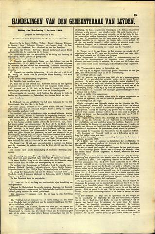 Handelingen van de Raad 1868-10-01