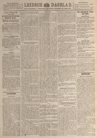 Leidsch Dagblad 1921-02-19