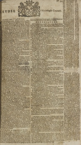 Leydse Courant 1770-08-06