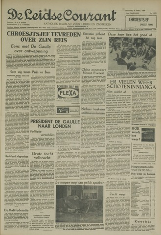Leidse Courant 1960-04-05