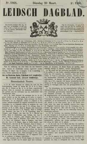 Leidsch Dagblad 1866-03-20