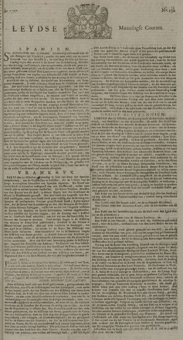 Leydse Courant 1727-11-03