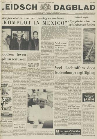 Leidsch Dagblad 1968-10-07