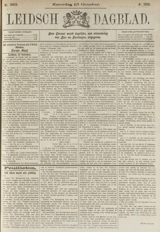 Leidsch Dagblad 1892-10-15