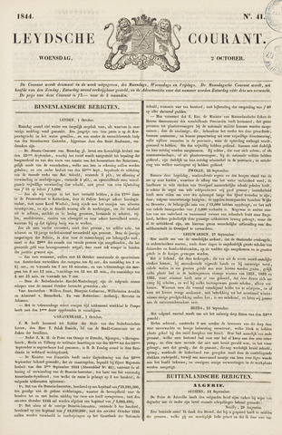 Leydse Courant 1844-10-02