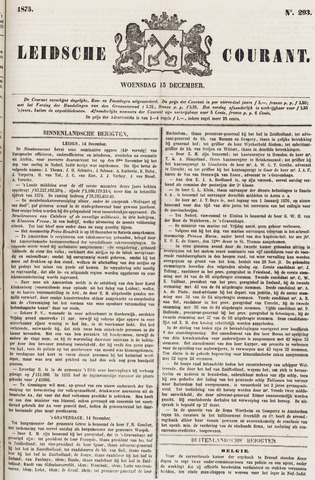Leydse Courant 1875-12-15